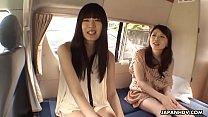 Japanese chicks, Shiori and girlfriend uncensored