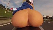 Ass & Furious Bare ass riding motorcycle
