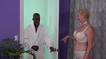 Seka's Interracial Seduction Of Her Trainer