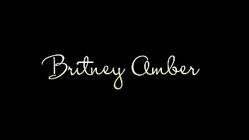 Big Tit Blonde Britney Amber Solo Masturbates With a Dildo