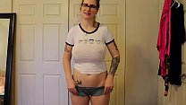 ELIZABETH RABBIT NUDE PANTY TRY ON HAUL - full video link http://gestyy.com/w8ser5