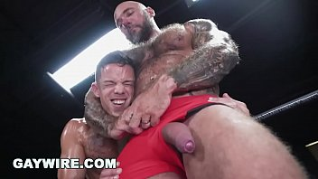GAYWIRE - Nic Sahara Learning How to Wrestle and Fuck From Jason Collins