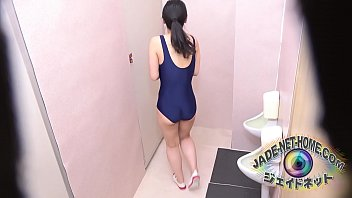 Teen's pee as standing at male rest room