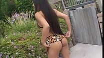Lucy Thai wild outdoor sex while the neighbors look at them horny.