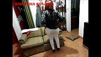 Sexo sesion de la CULONA deliciosa de mi mujer modelando sus ricas nalgas y chimadola de perrito. Pantalón blanco y super tanga negra. Me encanta de pelirroja y lo puta que es para darme ese culo rico!!!! 20 min