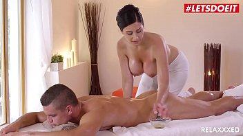 LETSDOEIT - Czech MILF Takes Young Big Cock On Hot Massage Sex (Alex Black & Max Dior)