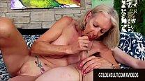 Golden Slut - Older Ladies Show off Their Cock Sucking Skills Compilation 8