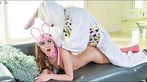 Tiny Easter Bunny Babe Gets Slammed - Summer Brooks