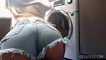 Gozei gostoso na lavanderia - Lolah VIbe