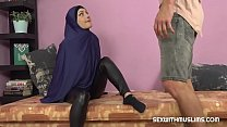 Horny Muslim woman was caught while watching porn
