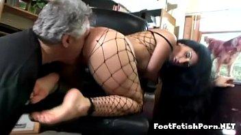 Naughty latina foot expert