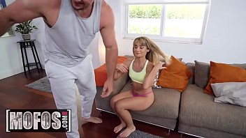 Petite fit Amateur (Anna Mae) gets pounded POV - MOFOS
