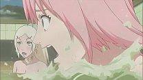 NARUTO GIRLS BATH SCENE【剥ぎコラ】