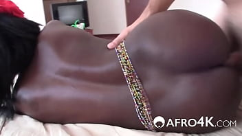 Amazing Black Booty First Ever Porn Shoot