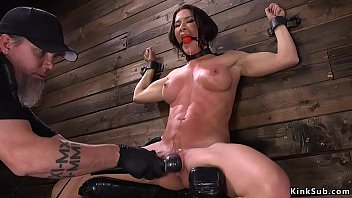Locked in device slave gets dp fucked