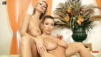 Ashley and Carol fingering and dildoing each others pussy