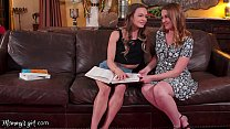 MommysGirl Dreamy MILF Marie McCray Helps Her Stepdaughter Naomi Swann To Study