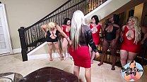 PAWG Betty Bang Lesbian Orgy
