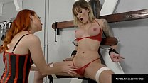 Bound Reagan Lush Tied Up & Titty Twisted By Kendra James!