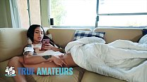 Petite Asian Avery Pleases Her Wet Pussy - True Amateurs