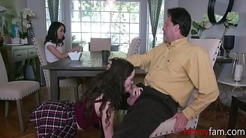 Daddy Tries To Fuck Both The Daughters- Aliya Brynn And Jackie Rogen