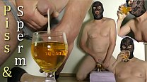 Drinking Piss and Sperm extreme Man drinks his urine & cum. Kinky Pissing peeing male cumshots swallow male Made in Holland. Jerking off Plassex plasseks pissen pipi. Wet and pissy golden shower.