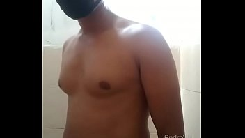 Wash his body in hostle bathroom in odissa Sambalpur India