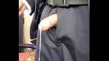 Policia masturbandose