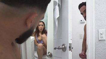 Kira Perez Caught Masturbating By Pervert Step Brother Peter Green