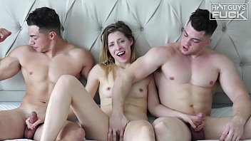 Collin Simpson, Julian Rodriguez and Tori Blue