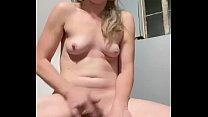 Quick solo orgasm