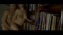 Cute Miriam Prado feels kinky in the library