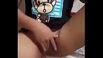 Japanese girl fingering myself