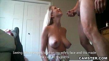 Slutty wife fucks stranger while husband is at work 6 min