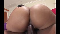 Big booty ebony BBW gets fucked in amateur porn video