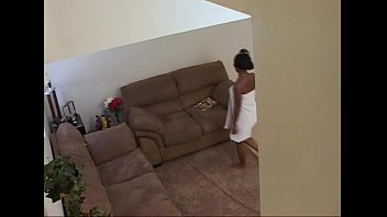 Black teen gets a. & face fucked by her step dad