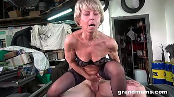 Granny wants me to fix her worn out pussy