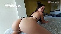 My ex girlfriend makes me an erotic dance and we end up fucking really hard - POV video
