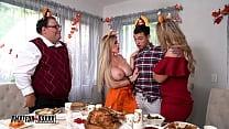 Amateur Boxxx - Kali & Casca's Crazy Cuckhold Threesome Thanksgiving