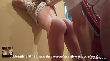 No Mercy! EXTREMELY PAINFUL ANAL CREAMPIE AGAINST HER WILL. BUTTHOLE TOTALLY DESTROYED (roleplay)