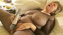 MarieRocks cums her head off in a catsuit