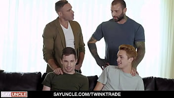 Best Friends Fuck Each Other's Sons - Twink Trade