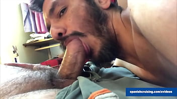Daddy Chris Getting Serviced by faggots
