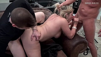 Horny amateur sluts sucking and fucking in homemade video