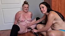 My dirty slut of a friend vacuuming my fat pussy