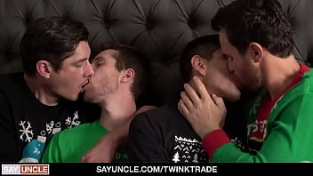 Hot daddies swap and dominate their sons - TwinkTrade