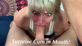 Cum in Mouth Surprise