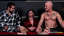 Step-Brothers Bareback Fuck Hot Friend For Christmas - NextDoorBuddies