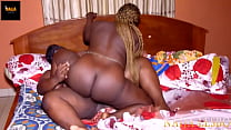 Nigerian Lesbian Queen Pussy on Pussy Right after New Year