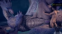 monster hunter dragon feral animation human sex fantasy